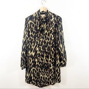 Michael Michael Kors Leopard Print Shift Dress